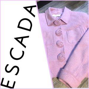 ESCADA wool Blend blazer/jacket sz 38